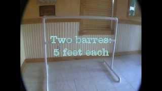 Portable Ballet Barre DIY