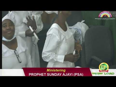 Download LDR. SEGUN ONIKEDE PRAYER MINISTRATION DURING 13TH ADULT HARVEST REVIVAL