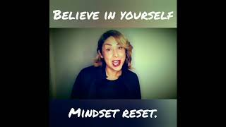 Mindset reset  The Secret to success on your fitness journey