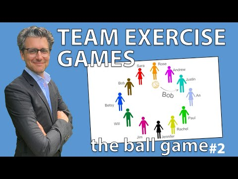 Team Exercise Games - The Ball Game #2