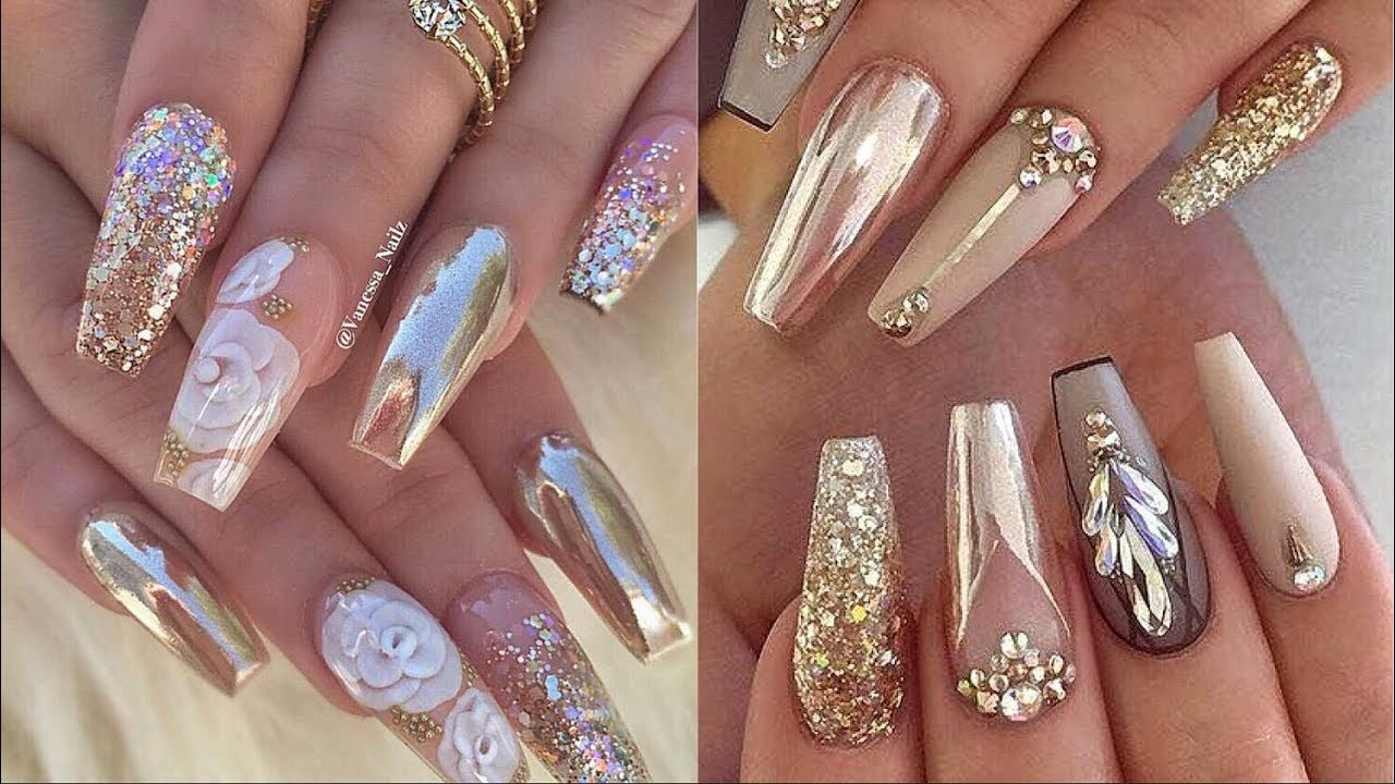 NEW INSTAGRAM NAILS TUTORIAL | NAILS 2019 - YouTube