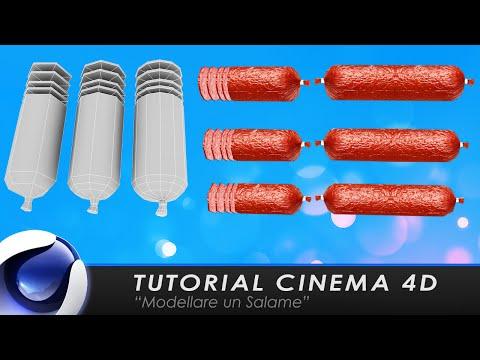 "TUTORIAL CINEMA 4D ""Modellare un Salame"""