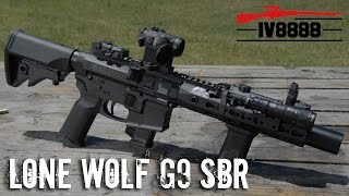 Lone Wolf G9 SBR Suppressed