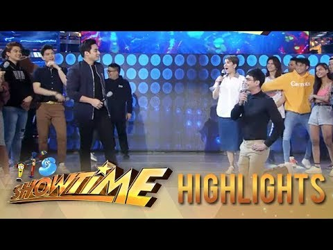 It's Showtime: Hastag Mccoy and Hashtag Luke have an awkward battle in Beklaban