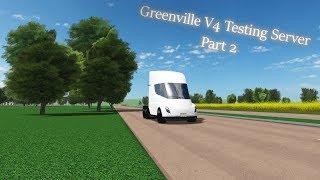 Greenville V4 Test Server gameplay! (Part 2) - Roblox