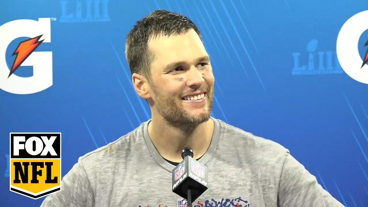 Watch Tom Brady's postgame Super Bowl LIII press conference | FOX NFL