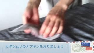 千葉海浜幕張マクロビ教室マクロウタセ・おもてなしナプキンワーク・テーブルコーディネート テーブルコーディネート 検索動画 17