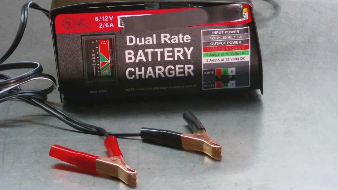 Best Way To Charge A Dead Car Battery - how to hook up in this ...