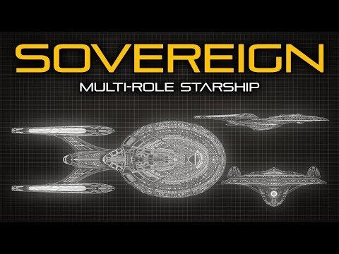 Star Trek: Sovereign Class Starship - Ship Breakdown
