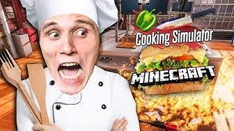 Ich koche den MINECRAFT Burger im Simulator!