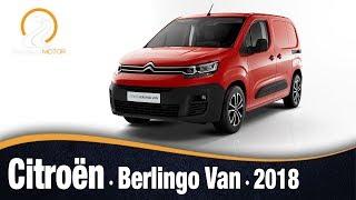 Citroën Berlingo Van 2018 | Información Review Español