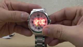 Мужские спортивные часы SHARK. Заказ на ebay. Обзор.  Men's Sports Watch SHARK. Overview.