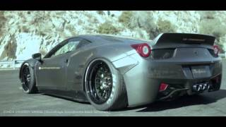 Ferrari 458 Italia Liberty Walk Performance
