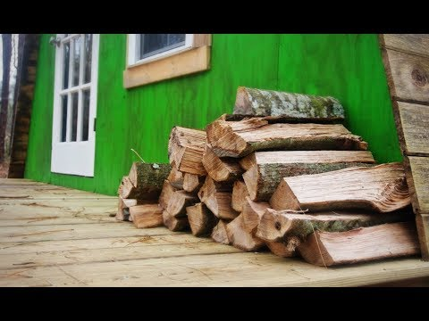 The Beauty Of Heating A Tiny House With Wood