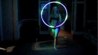 Kat D. Hoops - 1 Year Hooping Video - Day Hoop/LED