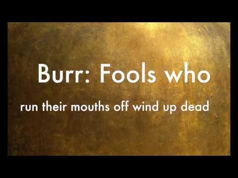 Aaron Burr, Sir (clean) Hamilton