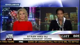 Ayaan Hirsi Ali responds to being ousted from speaking at Brandeis