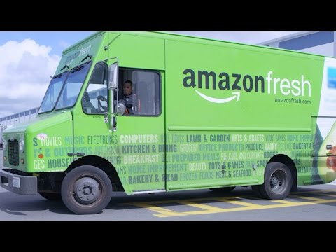 DC - Amazon Makes Grocery Delivery Service Free for Prime Members