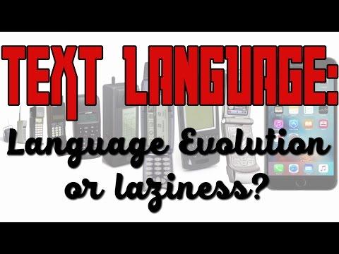 Text Language: Language Evolution or Laziness? | TrendZ