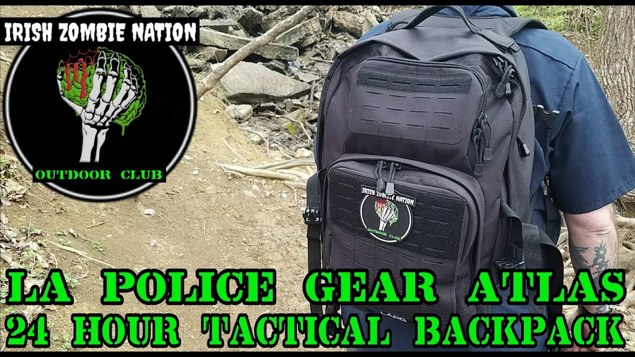 NEW! LA Police Gear Atlas 24 Hour Tactical Backpack - Review