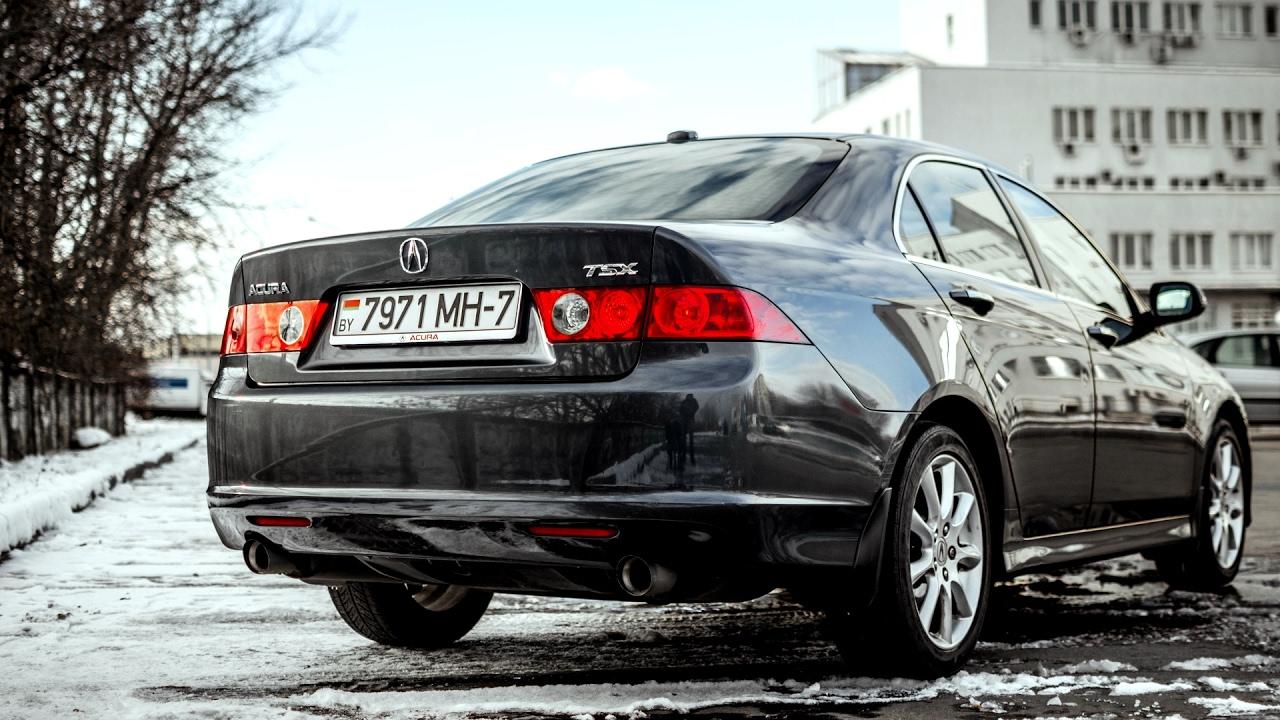 Американский JDM: Acura TSX