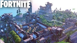 *BEST* DEATHMATCH MAP IN FORTNITE CREATIVE (CODES IN DESCRIPTION) - VALIANT VILLAGE