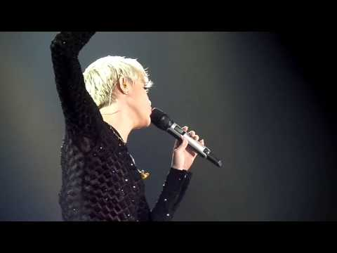 Miley Cyrus - Lucy In The Sky With Diamonds (The Beatles cover), May 24th 2014 Lyon