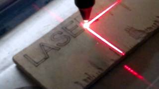 CNC Laser CO2 80W Home Made