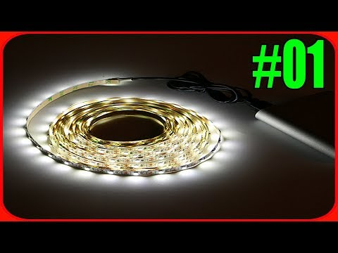 Usb led light strip under 5$ - electronics review and test