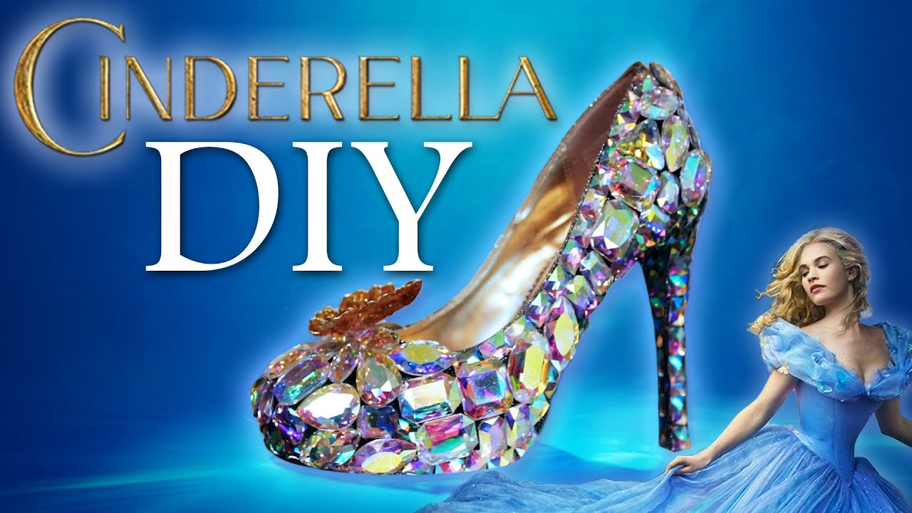 Diy cinderella glass slipper youtube diy cinderella glass slipper solutioingenieria Images