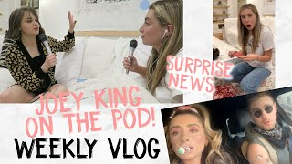 WEEKLY VLOG: A WEEK OF EXCITEMENT! NEWS, SKINCARE, MORE!