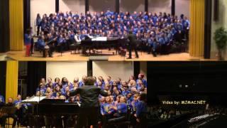 OYE - ACDA 2013 Delaware Children's Honor Choir Festival w/ Jim Papoulis