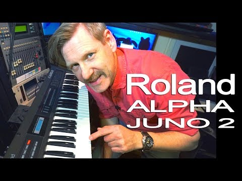Roland Alpha Juno 2 | The best Roland synth ever | To me
