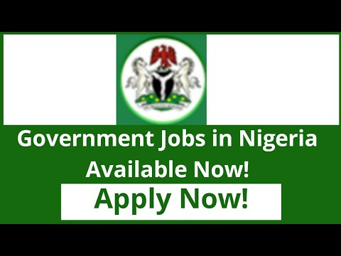 Government Jobs In Nigeria (2019) || Federal Ministry Of Environment And Others! Apply Now!