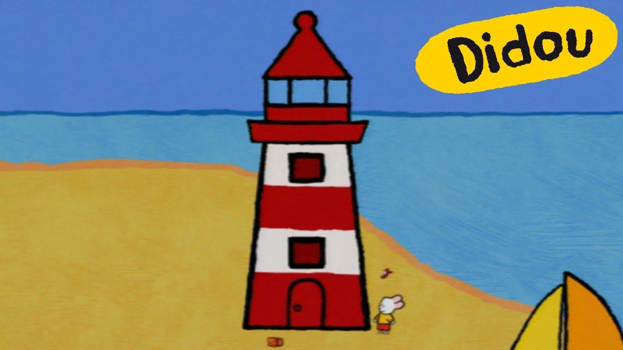 Phare didou dessine moi un phare dessins anim s pour - Dessin de phare ...