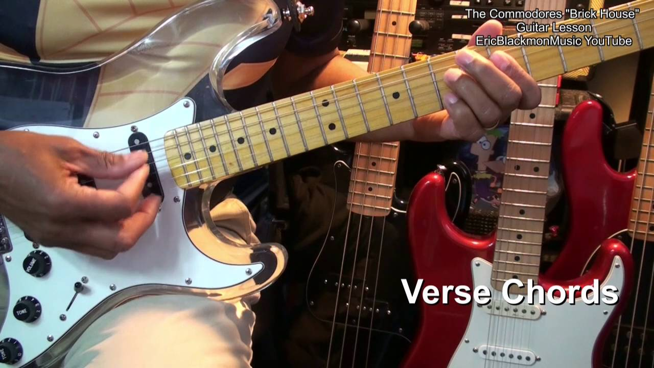 How To Play Brick House The Commodores Guitar Lesson