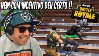 FORTNITE DA ZUEIRA | NOT SO GOOD!! (FT. FAEL_GAMER, ALLAN REAL AND MKM)