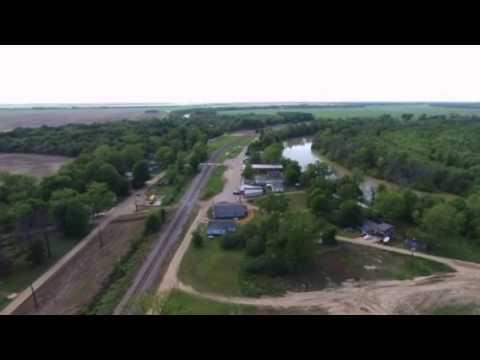 Glendora, Mississippi Aerial View
