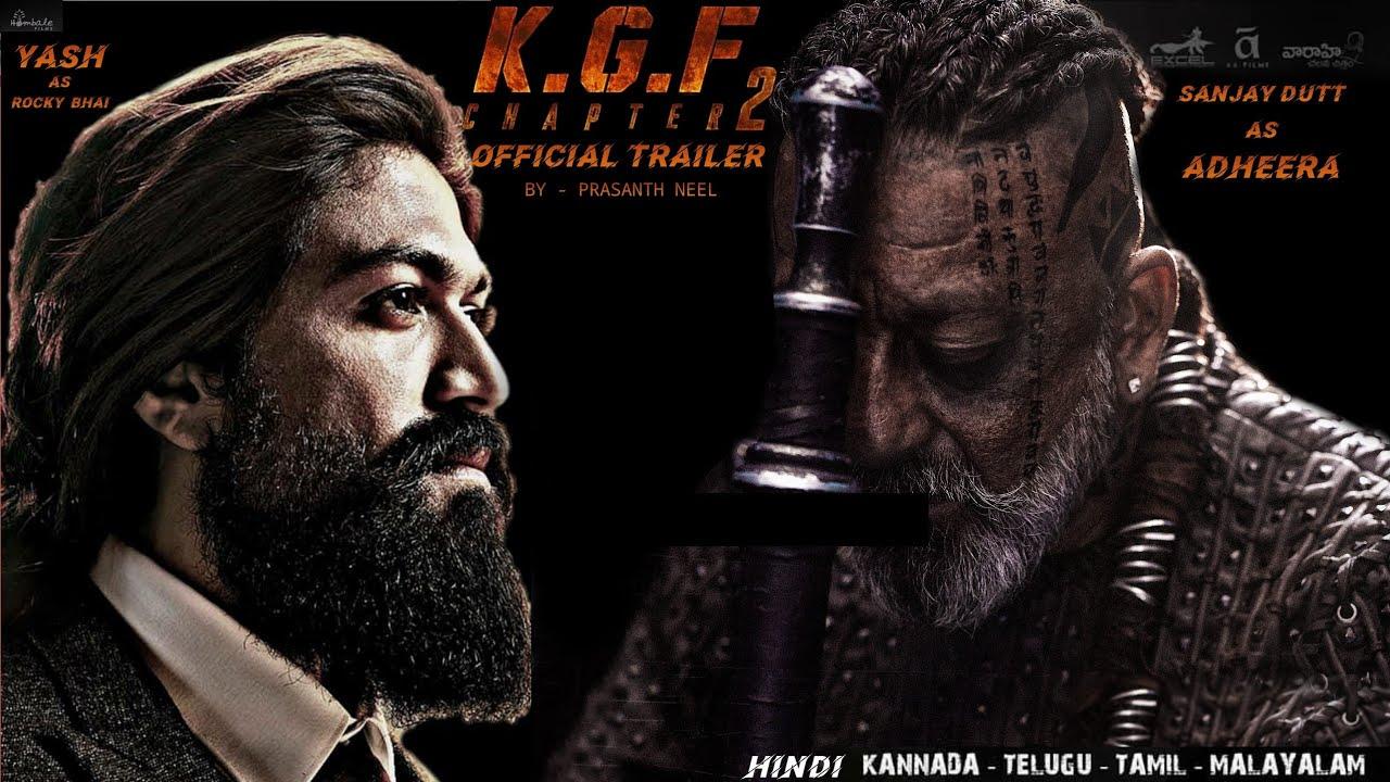 Download KGF Chapter 2: KGF 2,Sanjay Dutt, Yash, Prasanth Neel, KGF 2 Trailer, Kgf Chapter 2, Movie Update