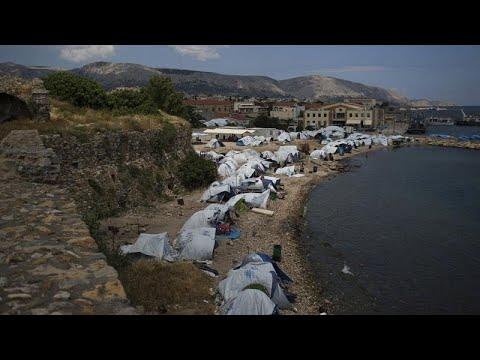 غضب يجتاح سكان الجزر اليونانية بسبب أزمة اللاجئين والسياسات الحكومية…  - 18:59-2020 / 1 / 15