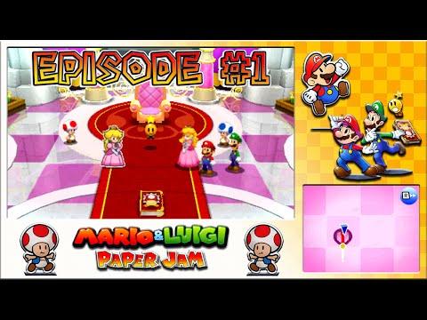 Mario & Luigi: Paper Jam  Mario Mash Up, Paper Dimension Unleashed  Episode 1