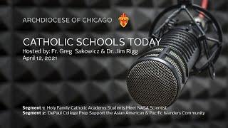 Catholic Schools Today – Live Radio Program 4/12/2021