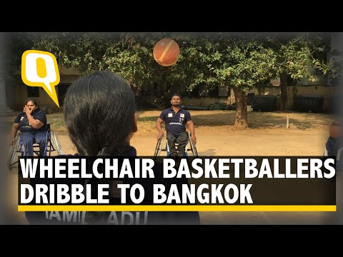 Quint Impact: Wheelchair Basketballers to Dribble to Bangkok