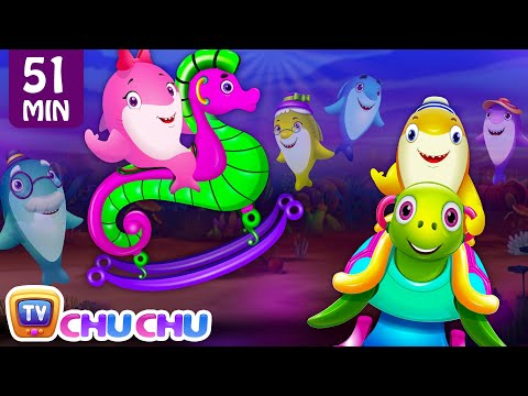 Baby Shark - Park Song and Many More Videos | Popular Nursery Rhymes Collection by ChuChu TV - วันที่ 14 Mar 2018
