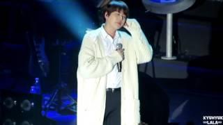 170225 Kyuhyun solo concert in Taipei - 新不了情+那些年+聽海