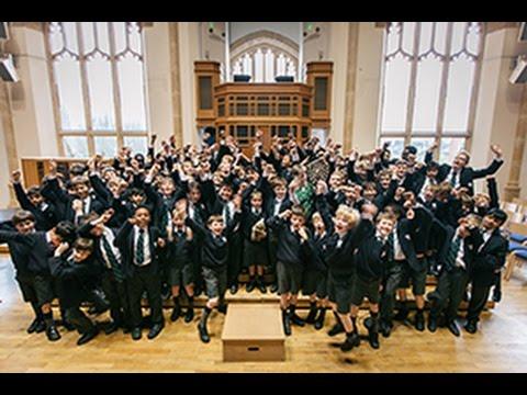 Prep School House Singing 2017 - Bedford School