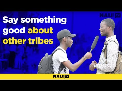 Say something good about other tribes!