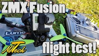 zmx fusion test flight vlog
