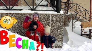 Дети готовят вкусности / Преимущества котла АГВ / Откапываемся после снегопада
