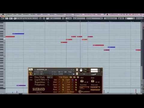 "Cmusic Production Alto Sax - ""Sunny Day"""